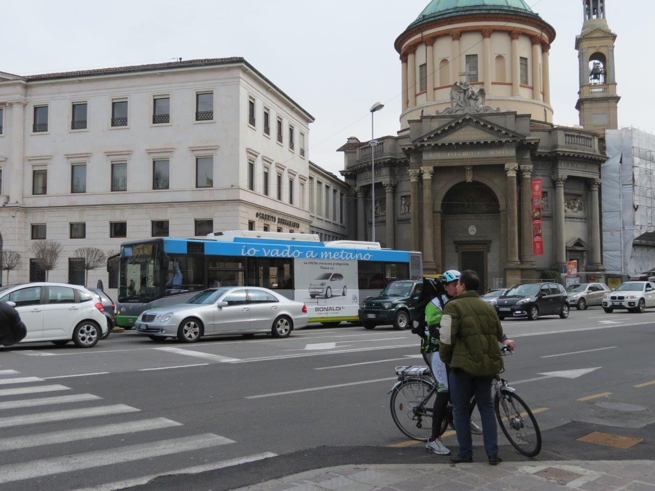 MCS Dinamica: pubblicità autobus bergamo maxiside atb