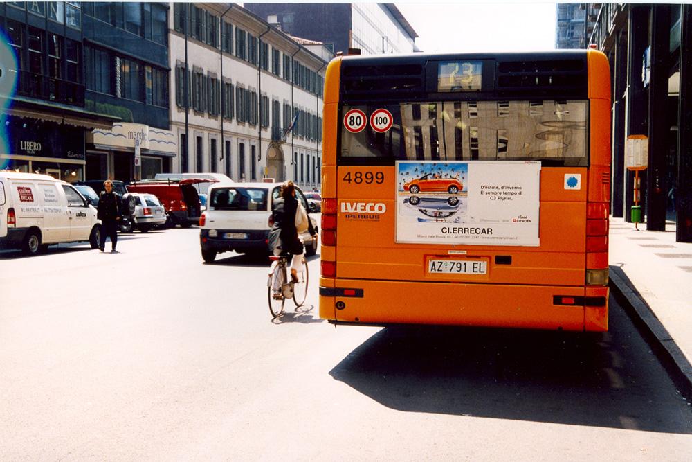 pubblicità autobus genova