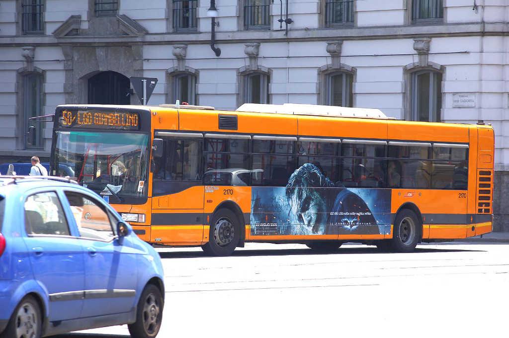 pubblicità autobus milano